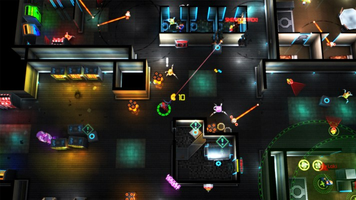 Neon Chrome (Switch eShop) Review
