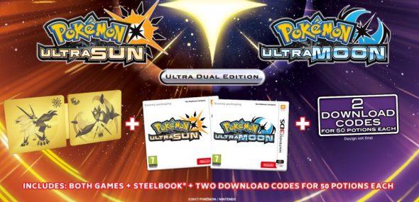 Pokemon Ultra Sun and Ultra Moon - Ultra Dual Edition