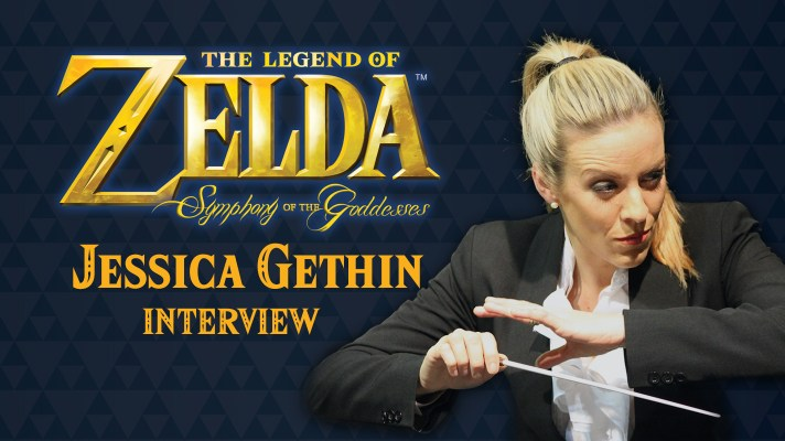 Interview: Jessica Gethin conductor for The Legend of Zelda: Symphony of the Goddesses