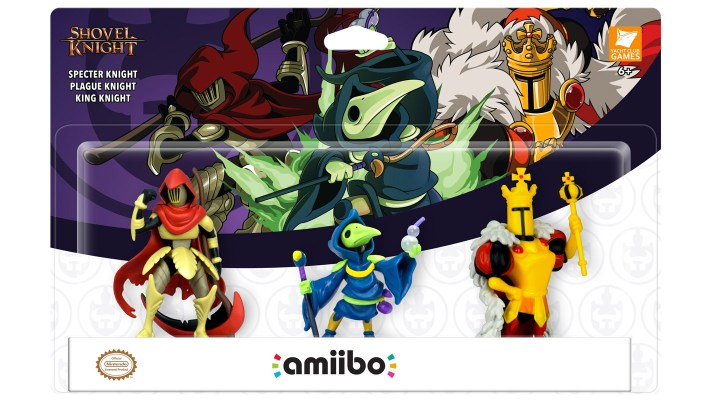 3 new Shovel Knight amiibo announced