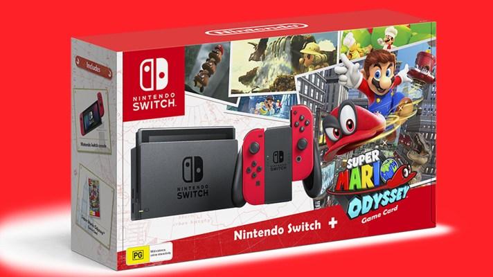 Super Mario Odyssey Switch bundle confirmed for Australia