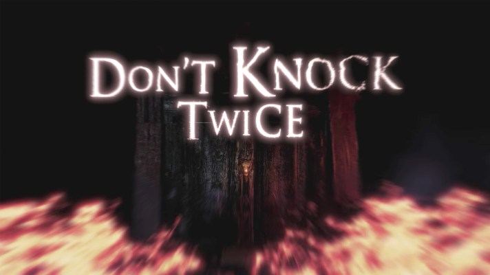 First-person horror game Don't Knock Twice coming to Switch