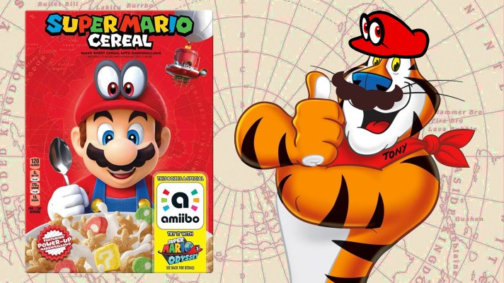 Kellogg's and Mario partner up for cereal with amiibo functionality