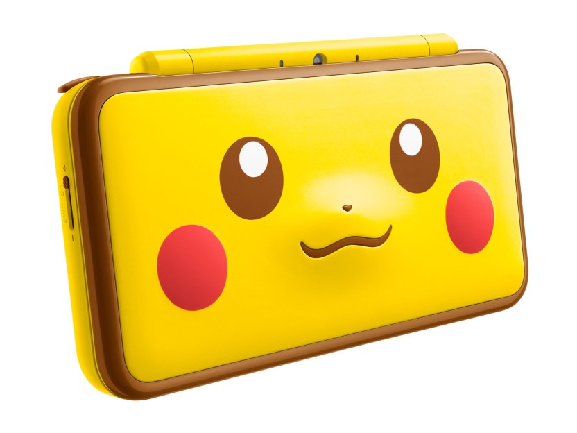 New Nintendo 2DS XL Pikachu Edition - Front
