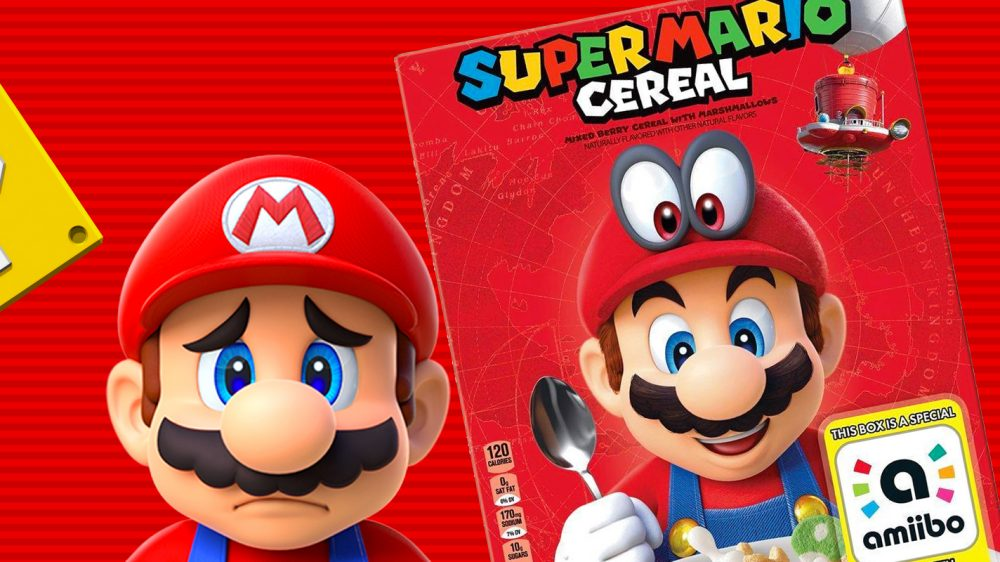 No Plans For Super Mario Cereal To Come To Australia Vooks