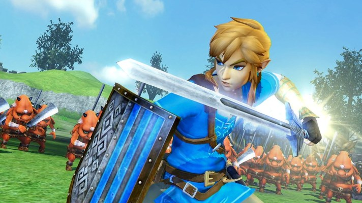 Hyrule Warriors: Definitive Edition slashing its way to the Switch