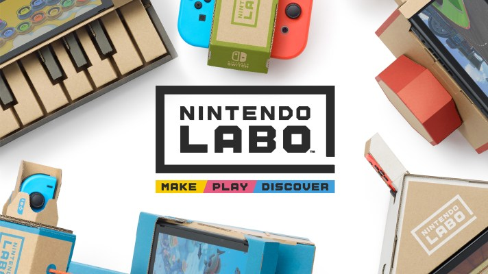 New Nintendo Labo trailer shows off the Toy-Con Garage