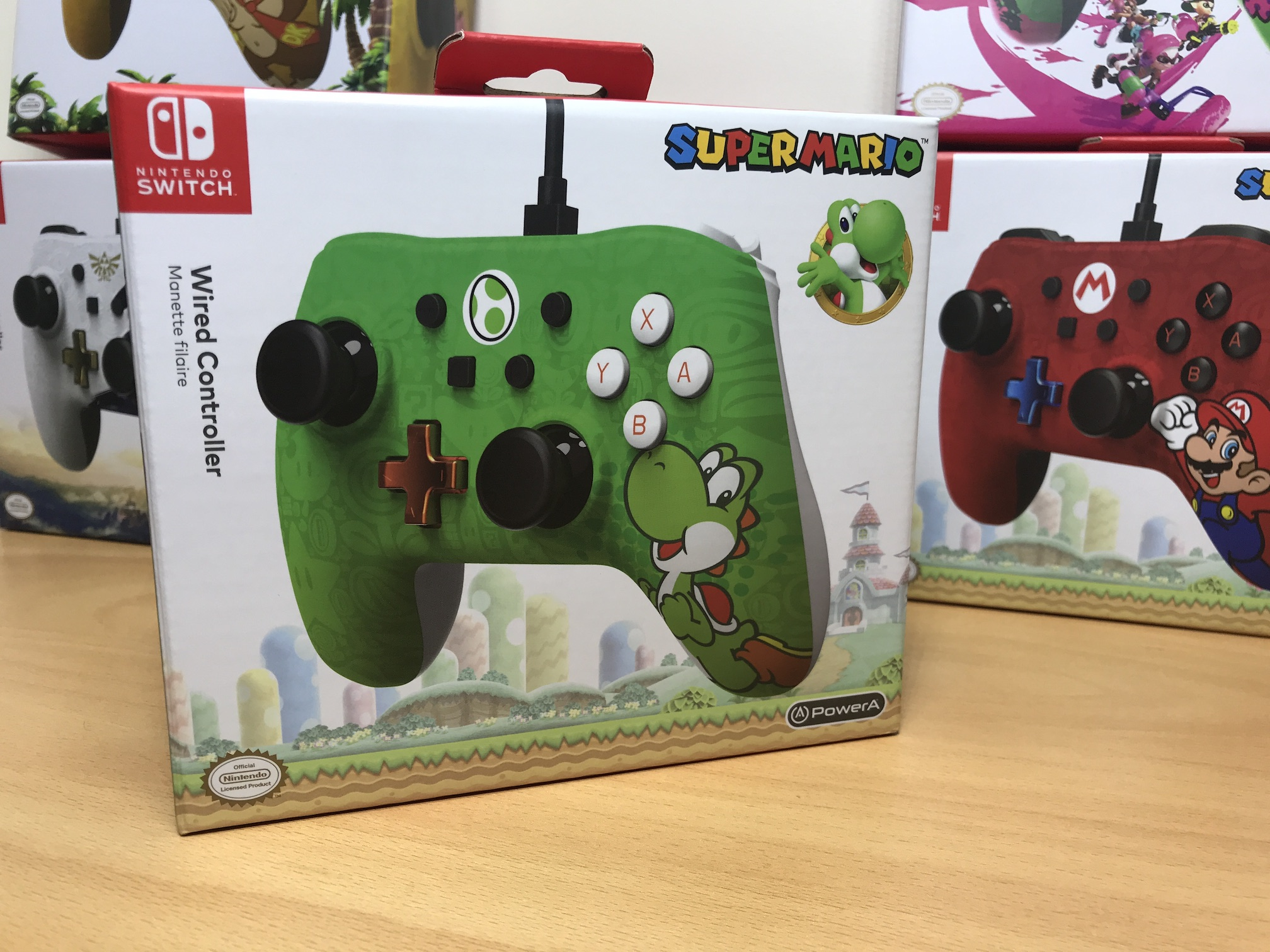 Review: PowerA Nintendo Switch Wired Controllers - Vooks