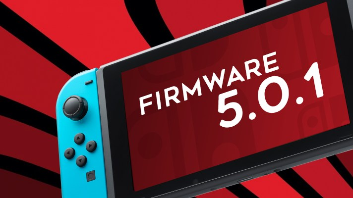 Nintendo Switch firmware updated to ver 5.0.1