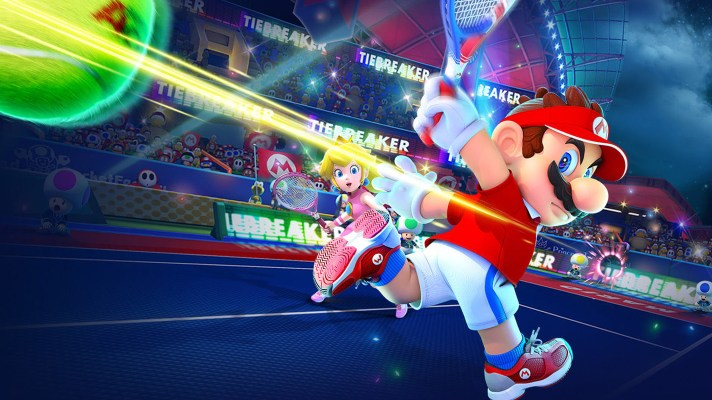World's top tennis players competing in Mario Tennis Aces online tournament