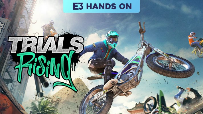 E3 2018: Hands on with Trials Rising
