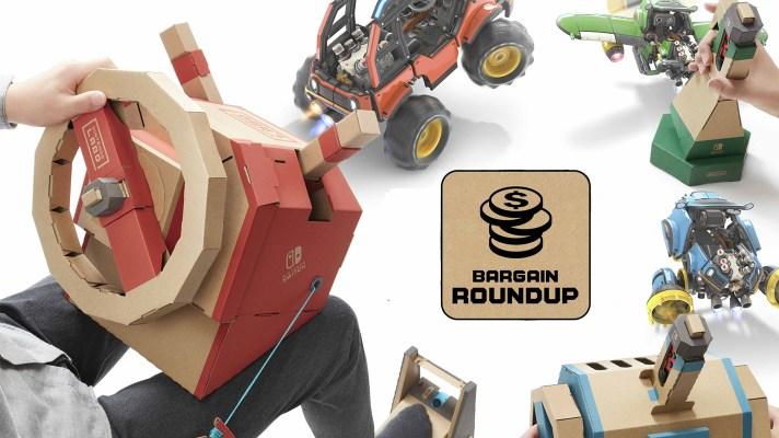Aussie Bargain Roundup: Nintendo Labo Vehicle Kit