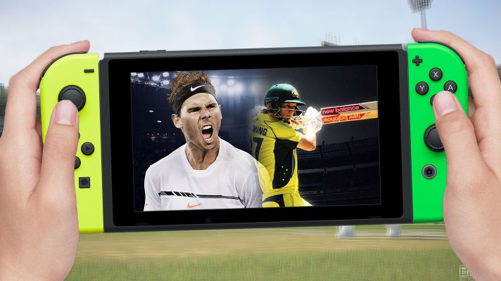Big Ant's future cricket & tennis games in development, coming to Switch