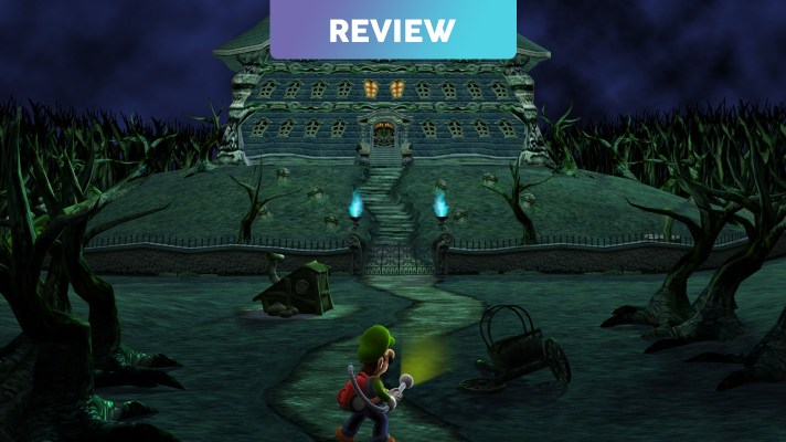 Luigi's Mansion (3DS) Review