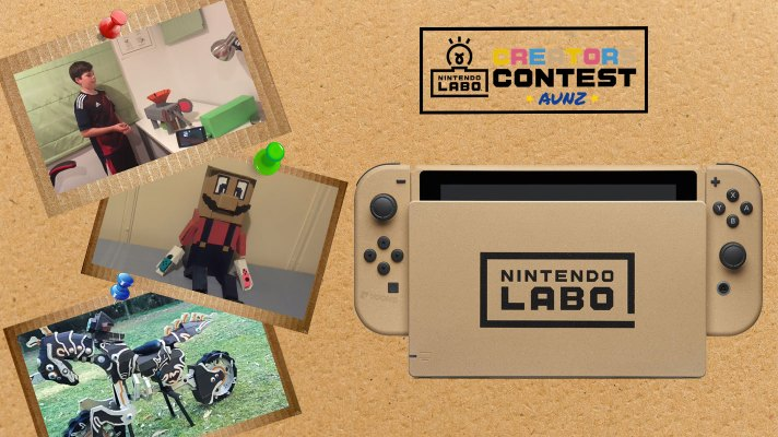 Nintendo Labo Creators Contest winners announced