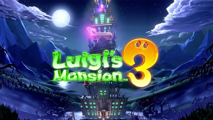 Luigi's Mansion 3 to spook up the Switch on October 31st