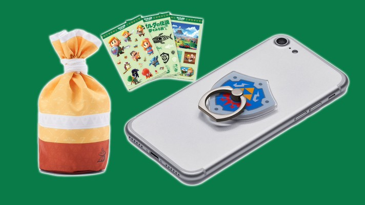 My Nintendo in Japan gets these cool Link's Awakening themed goods