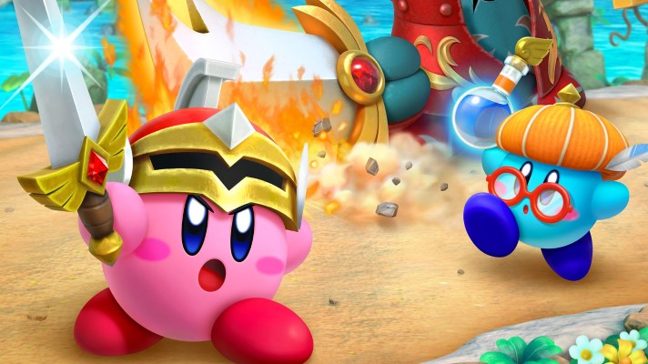 Super Kirby Clash is a new free-to-start Kirby eShop brawler and its available today