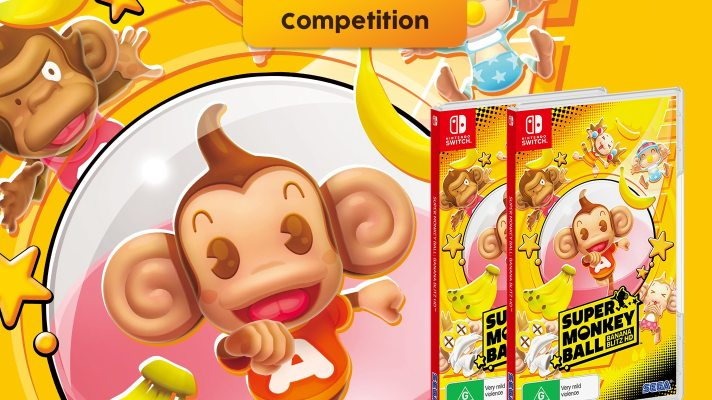 Competition: Two copies of Super Monkey Ball Banana Blitz HD on Switch up for grabs