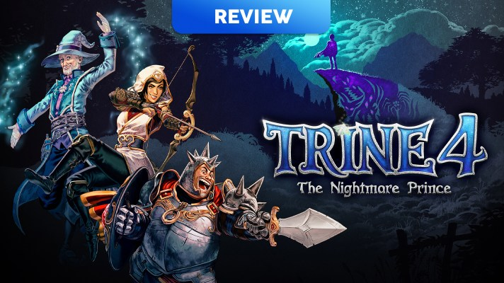 Trine 4: The Nightmare Prince (Switch) Review