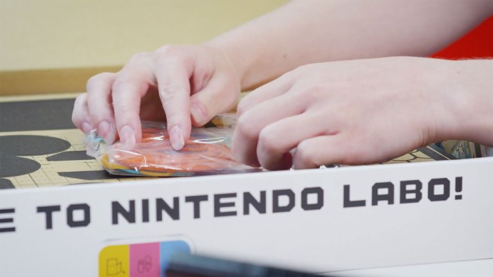 Nintendo has made an ASMR video with Nintendo Labo