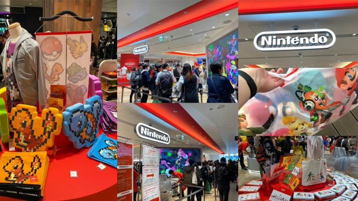 A Visit to the Nintendo Tokyo Store
