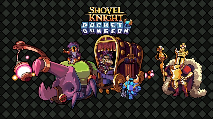 The Shovel Knight fun continues with Pocket Dungeon