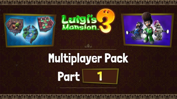 The first part of Luigi's Mansion 3 – Multiplayer Pack DLC is out now