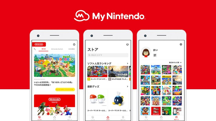 Nintendo releases new My Nintendo smartphone app in Japan