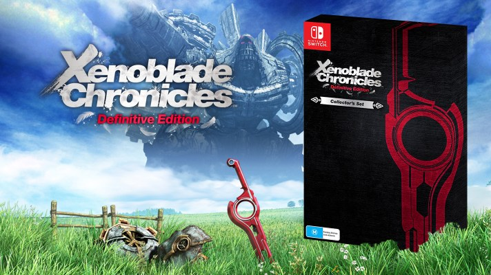 Xenoblade Chronicles Definitive Edition is getting a collectors edition in Australia