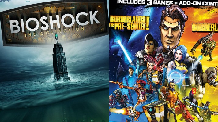 Find out 'What's Included' in these two new Borderlands and BioShock Collection trailers