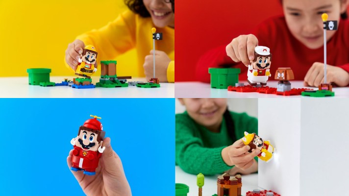 LEGO Super Mario Power-Up Packs to debut alongside main set