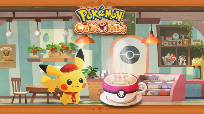 Pokémon Café Mix is a new puzzle game for mobile and Switch