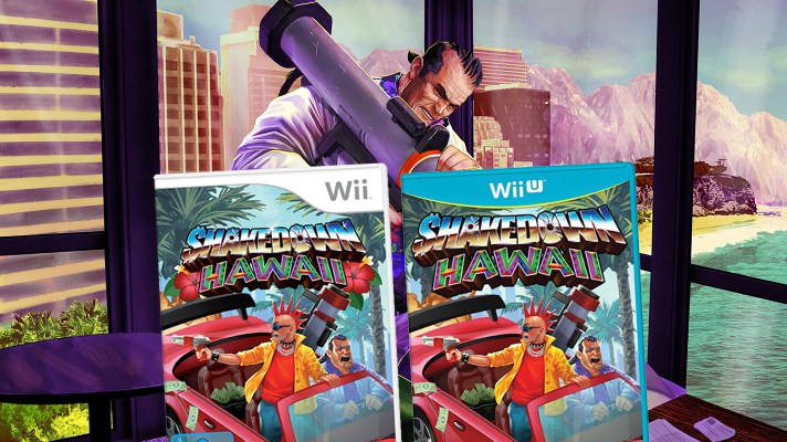 Shakedown Hawaii goes back in time and is coming to Wii and Wii U