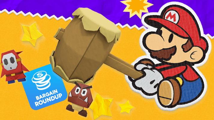 Aussie Bargain Roundup – Paper Mario: The Origami King