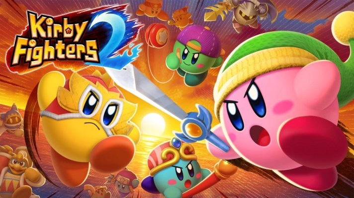 Kirby Fighters 2 officially revealed, available now on the eShop