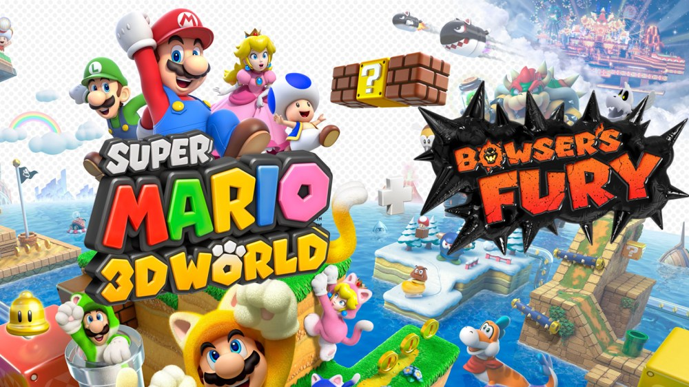Super Mario 3D World + Bowser's Fury coming February 2021 with online co-op  and more - Vooks