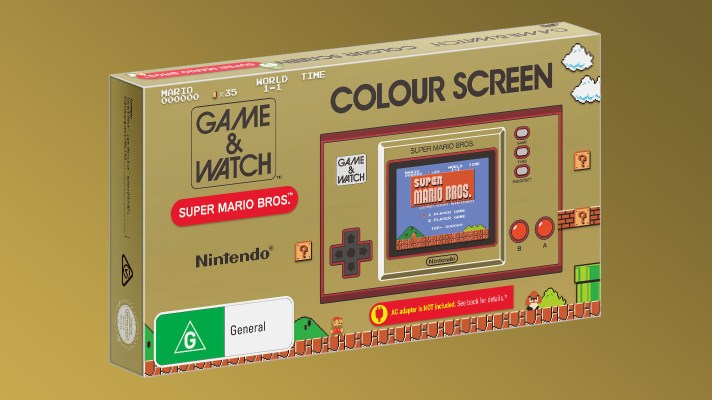 The Game & Watch Super Mario Bros. is getting one last restock in Australia, preorders reopen