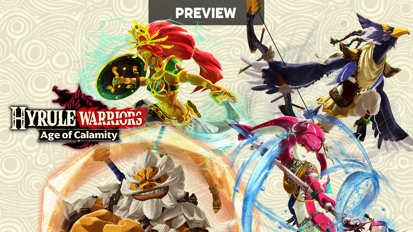 Hyrule Warriors Age Of Calamity Preview Vooks