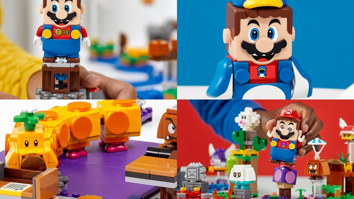 New Super Mario LEGO sets on the way add new features to Mario and more