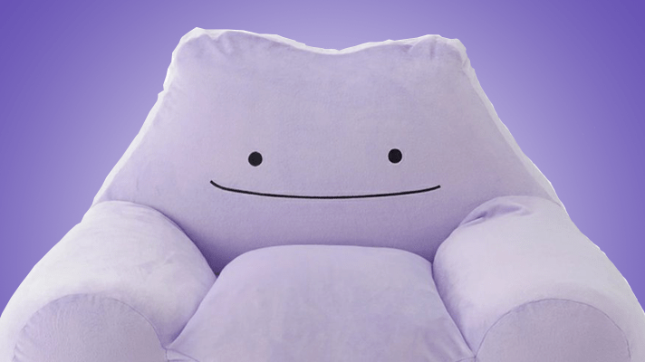 Ditto transforms into a Japan exclusive chair
