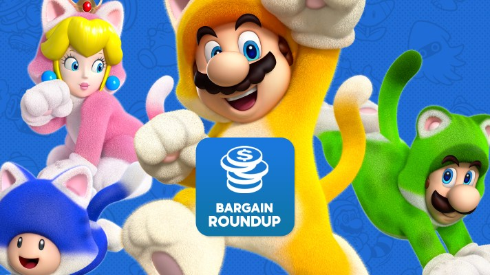 Aussie Bargain Roundup: Super Mario 3D World + Bowser's Fury