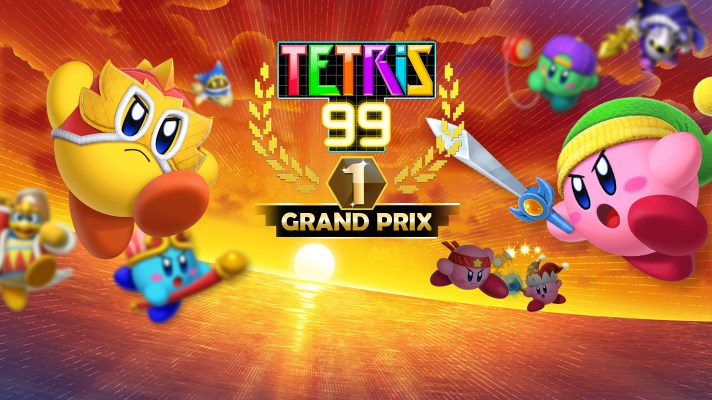 Tetris 99 is getting ready to fight on with a Kirby Fighters 2 Grand Prix