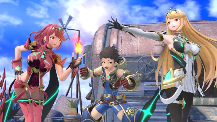 Pyra and Mythra join the Smash Bros. Ultimate roster today
