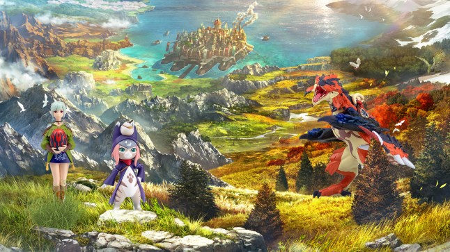 Monster Hunter Stories 2: Wings of Ruin amiibo exclusive to EB Games in Australia