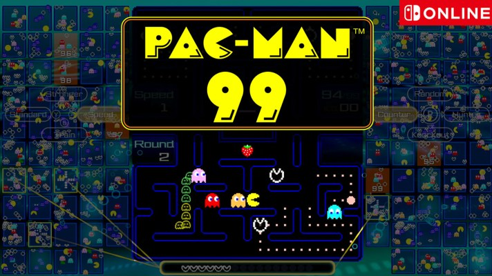 PAC-MAN 99 is coming to Nintendo Switch Online on April 8th