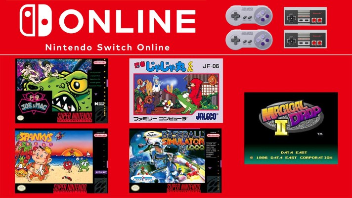 Joe & Mac, Magical Drop2, and more coming to NSO NES & SNES service