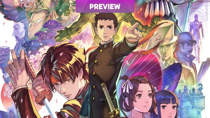 Hands on with The Great Ace Attorney Chronicles