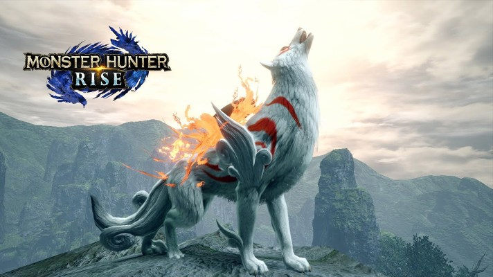 Monster Hunter Rise's second Capcom collaboration is Okami-themed