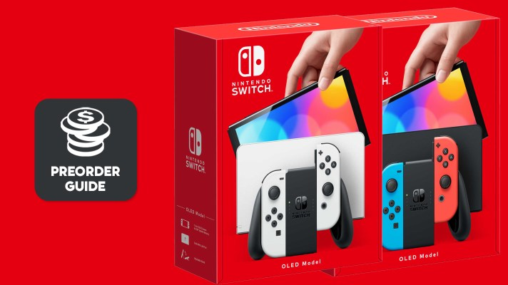 Where to preorder the New Nintendo Switch OLED model in Australia